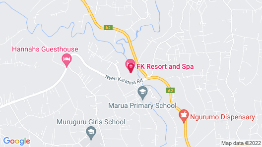 FK Resort & Spa Map
