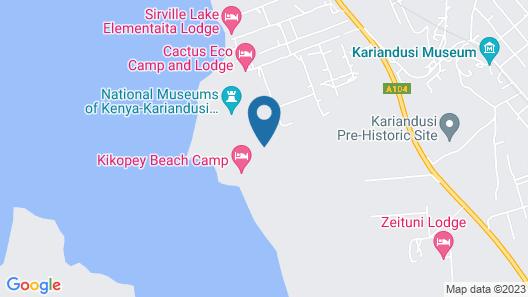 Sirville Lake Elementaita Lodge Map