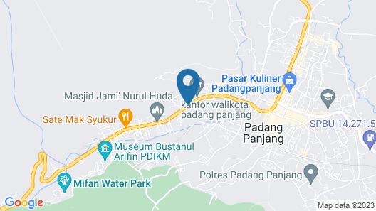 Hotel Rangkayo Basa Padang Panjang Map