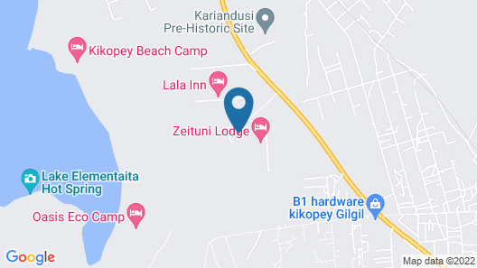 Jacaranda Lake Elementaita Lodge Map