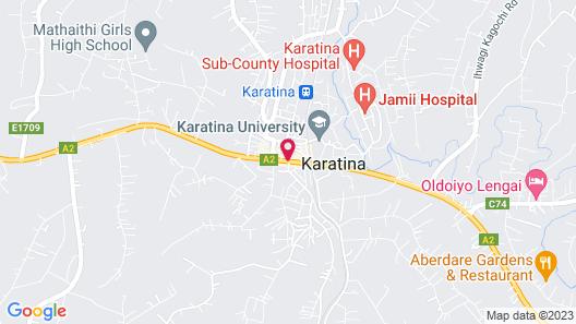Ibis Hotel Karatina Map