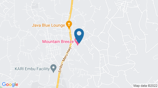Mountain Breeze Hotel Map