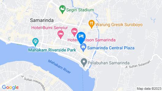 Guest House Samarinda Map