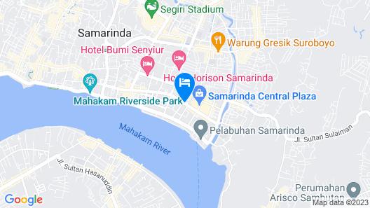 Mercure Samarinda Map
