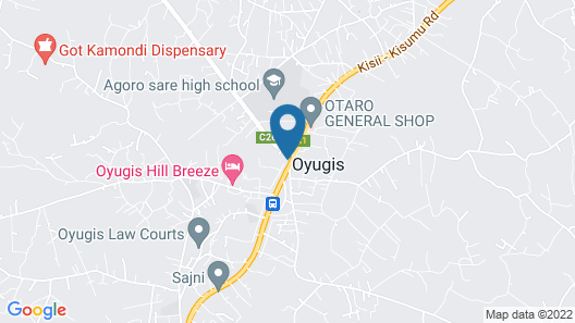 LE GRAND HOTEL OYUGIS Map