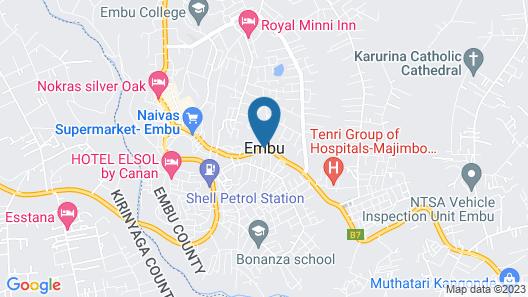 Salkan Hotel Map