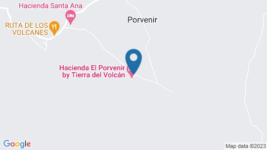 Hacienda El Porvenir Map
