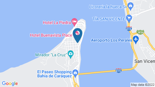 CoCo Bongo Hostel Map