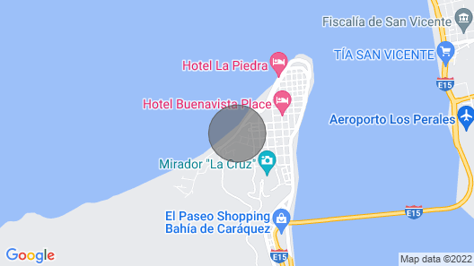Bahia de Caraquez Beautiful Apartment With Ocean Views Map