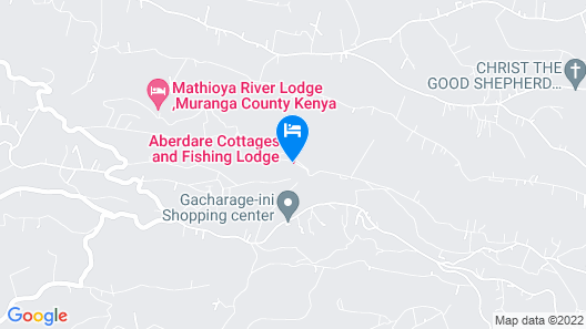 Aberdare Cottages & Fishing Lodge Map