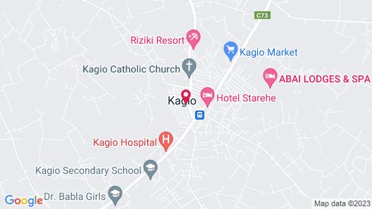 Starwood Hotel Kagio Map