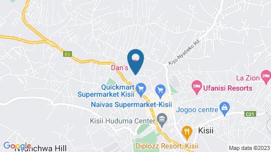 Dan's Hotel Map