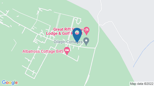 Great Rift Valley Lodge and Golf Resort Map