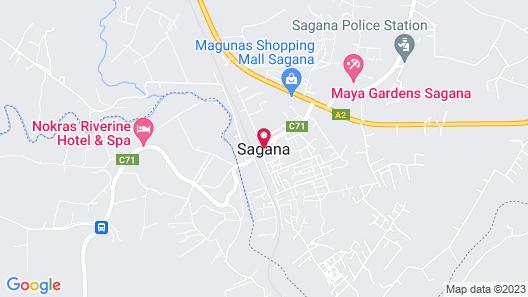 Maya Gardens Sagana Map