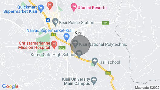 Stylish and chic 1BR apartment in the heart of Kisii County. Map