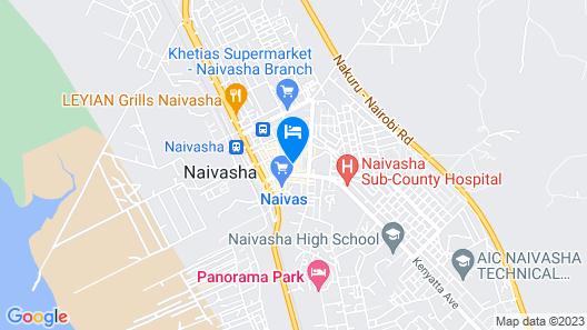 Naivasha Gate Hotel Map
