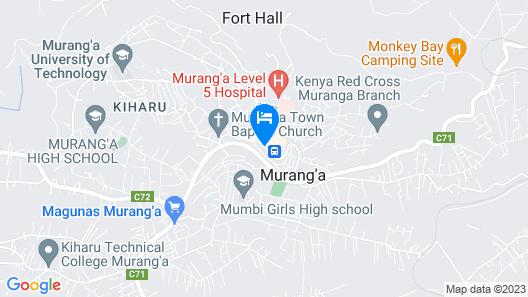 HOTEL NOKRAS MURANG'A Map