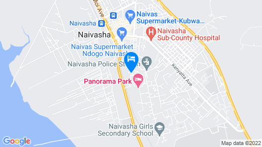 Guest House Jane Naivasha Map