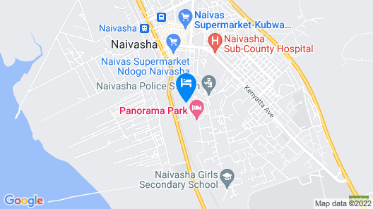 Enashipai Resort & Spa Map