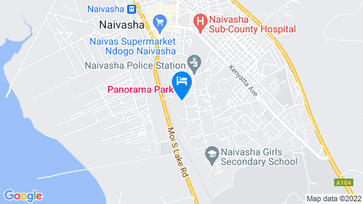 Naivasha Rocky Eco Lodge Map