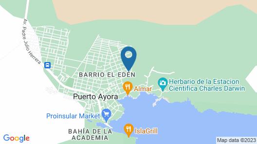 Maytenus Galapagos Map