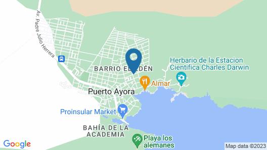 Villa Galapagos Map