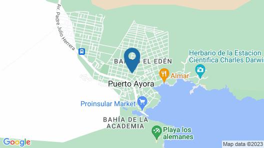 WHITE HOUSE GALAPAGOS Map