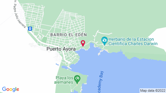 Galapagos Habitat By Eco Luxury Group Map