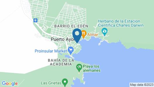 Hotel Solymar Map