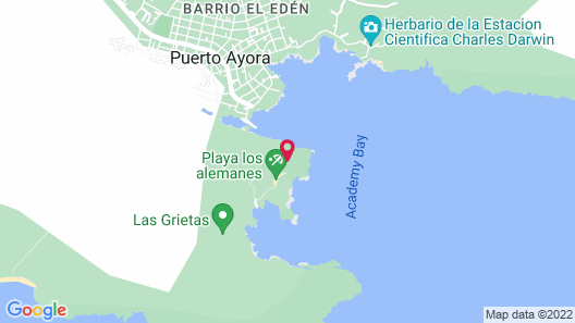 Angermeyer Waterfront Inn Map