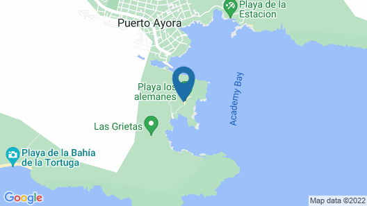 Finch Bay Galapagos Hotel Map