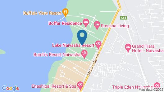 Lake Naivasha Resort Map