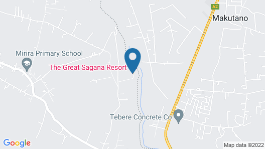 The Great Sagana Resort Map