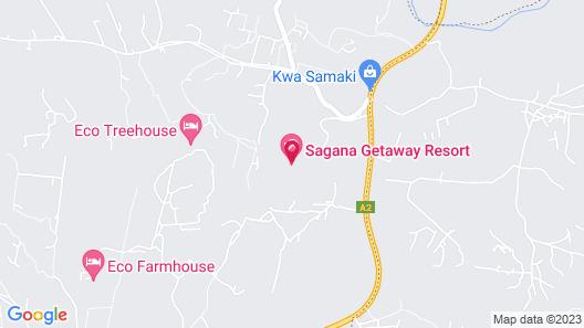 Sagana Getaway Map