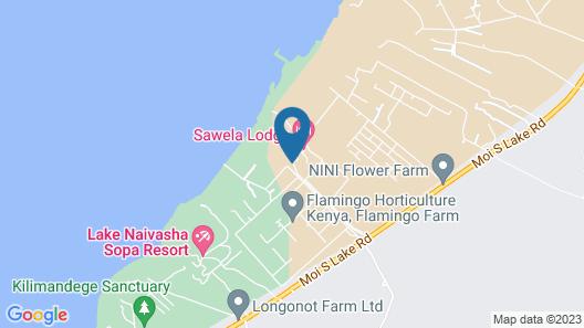 Sawela Lodge Map