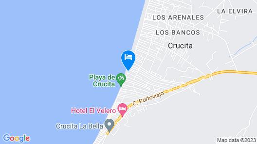 Hotel & Resort Terrazas del Mar Map