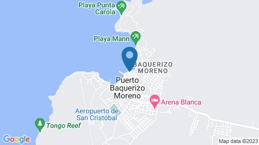 La Zayapa Hotel Map