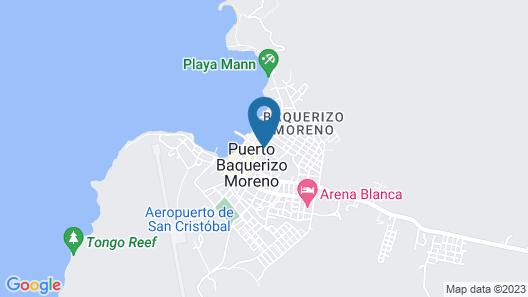 Hotel Blue Marlin Map
