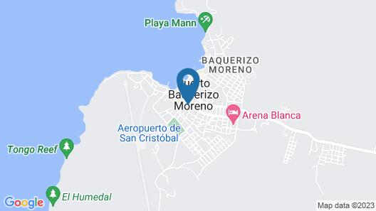 Hotel Los Algarrobos Map