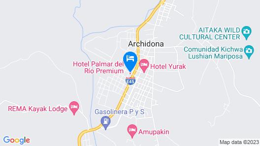 Hotel Palmar del Río PREMIUM Map