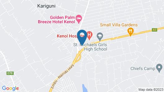 Golden Palm Breeze Hotel Map