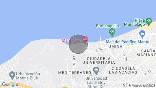 Mykonos Oceanfront Resort Dream Map