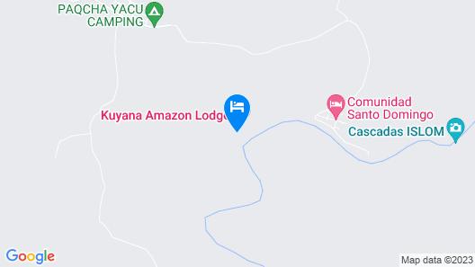 Kuyana Amazon Lodge Map