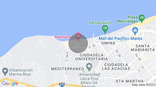 Gran Lugar Cerca del Océano Map