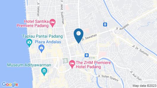 Hotel Musafir Inn Map