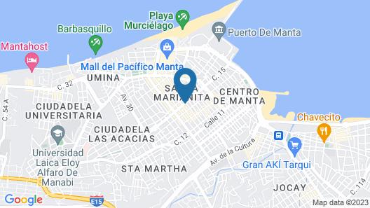 Playa Suites Apart-Hotel Map
