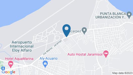 Aquamarina Hotel Map