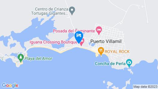 Hotel La Jungla Map