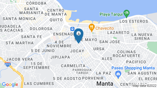 Condominio Manta Map