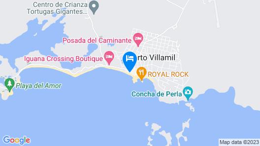 La Casita de la Playa Map